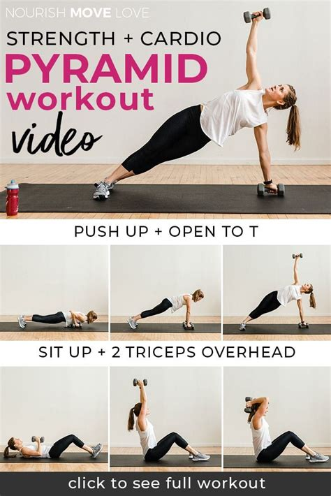 30 Minute At Home Workout by 30 Minute Pyramid Workout At Home Healthy Living