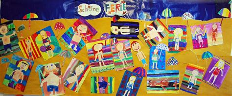 basteln sommer grundschule kunstunterricht in der grundschule kunstbeispiele f 252 r die