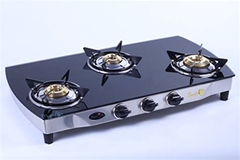 Buy Surya C 3 Burner Digital Smart Gas Stove 3d Glass Top On Amazon Pellet Stove Distributors Kitchenaid Double Oven Appliance Paint For Stoves Imperial 6 Burner Electric Replacement Drip Pans 30 Viking Glass Cooktop Gas General Parts