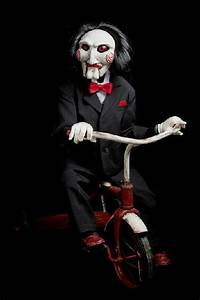 "LIFE SIZE Autographed Billy ""Jigsaw"" puppet from SAW ..."