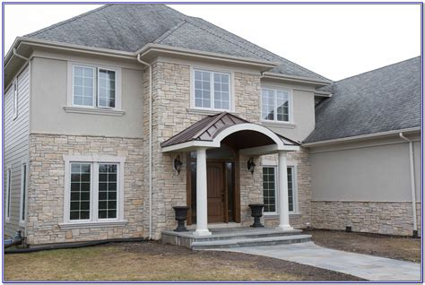 exterior paint colors with stone hawk haven