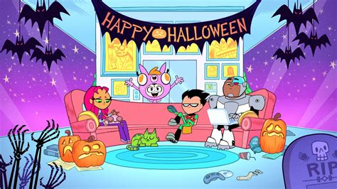 Halloween Wars Full Episodes Youtube by Clip Titans Go Halloween Toonbarntoonbarn