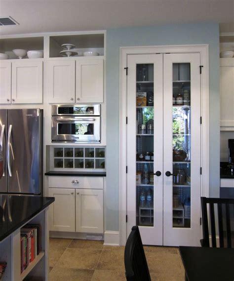 double pantry doors  glass doors  gates kitchen