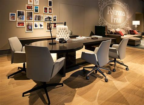 Poltrona Frau, Jobs Office Downtown And Oxford Chairs