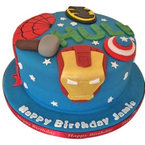 marvel birthday cake  buy   uk