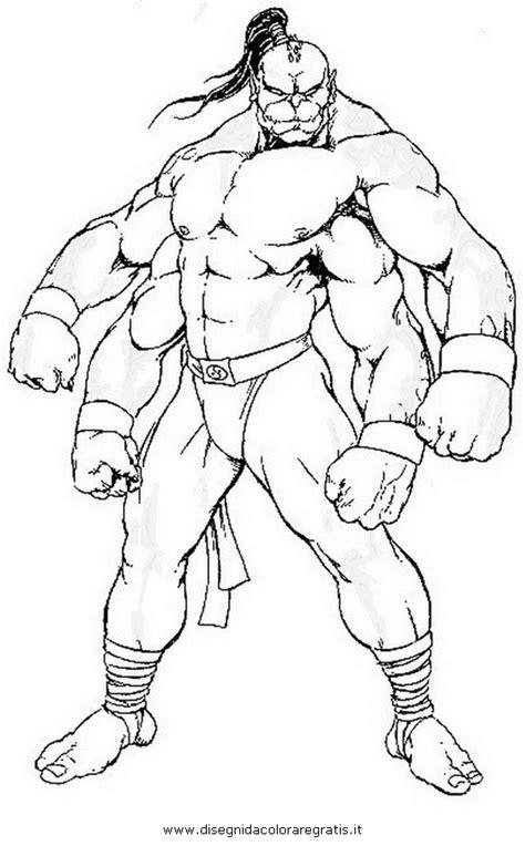 disegno mortalkombat personaggio cartone animato da