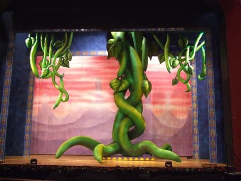 inflatable beanstalk norwich theatre royal set costume