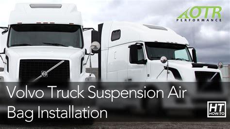 volvo truck suspension air bag   otr performance