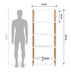 alter bureau etagère design rack blanche en bois style scandinave