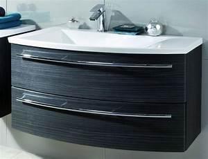 Waschtisch Mit Unterschrank 90 Cm : puris crescendo waschtisch mit unterschrank 90 cm breit becken links badm bel 1 ~ Markanthonyermac.com Haus und Dekorationen