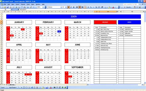 top  excel yearly calendar excel spreadsheet