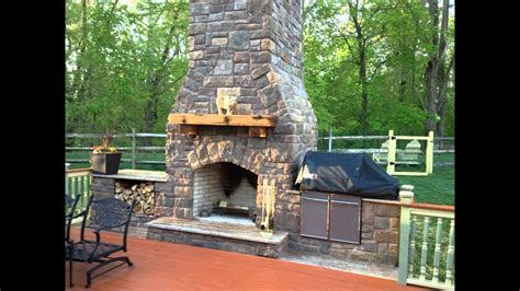 Bbq And Fireplace - outdoor fireplace and smoker