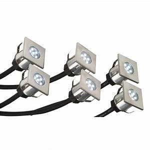 Led deck light kit stainless steel exst k crompton