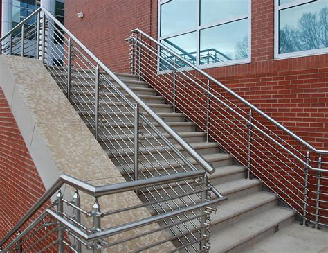 Steel Banister by Architectural Railing Systems Sc Railing Company