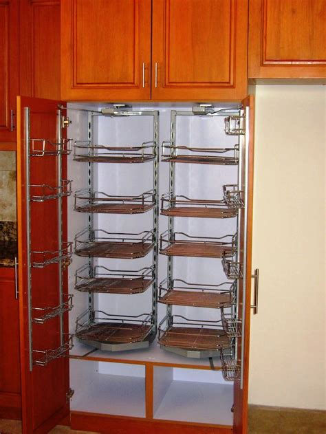 stainless steel kitchen storage cabinets stainless steel swing out pantry storage hannah modular