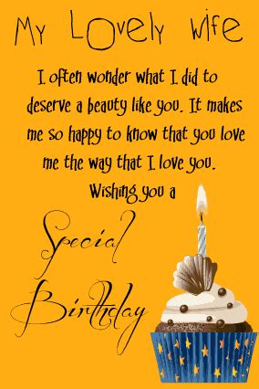 happy birthday letter  wife  husband  birthday