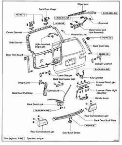 How Do You Open The Rear Hatch On A 2002 Toyota Sienna