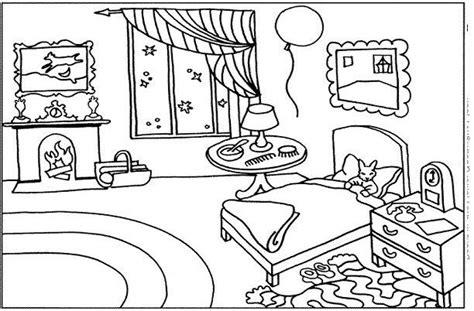 coloriage chambre chambre 13 bâtiments et architecture coloriages à