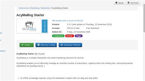 como instaler template joomla desde url gu 237 a para instalar extensiones en joomla 3 guiadev