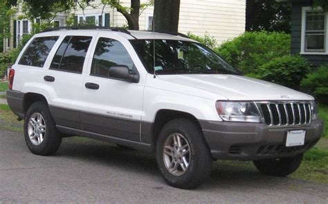 old white jeep cherokee file 99 03 jeep grand cherokee laredo jpg wikimedia commons