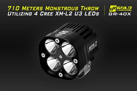 Light Bar For Motorcycle. Turck Working Lamp Offroad Led