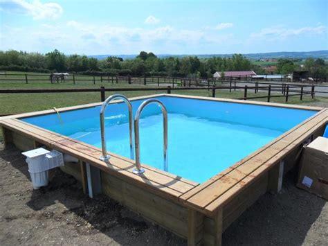 piscine en bois carree piscine bois carr 233 e en kit bricolage jardinage maison s 232 te 34200 annonce gratuite