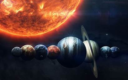Planet Sun Space Wallpapers Pc Resolution