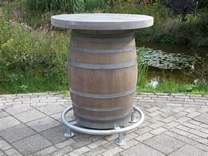 Bar In Tonnen : statafel met bar in dark grey wash ~ Frokenaadalensverden.com Haus und Dekorationen