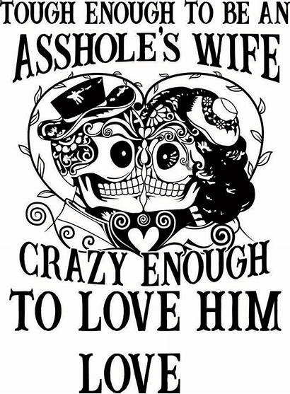 Svg Coloring Pages Adult Crazy Wife Skull