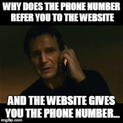 Phone Number Meme - liam neeson taken meme imgflip