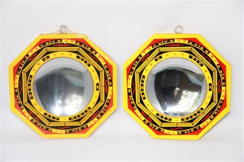 Lot De 2 Miroirs Bagua Concave Et Convexe 13cm