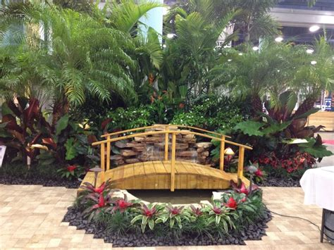 Moss Lighting by Water Features Tropical Landscape Miami By