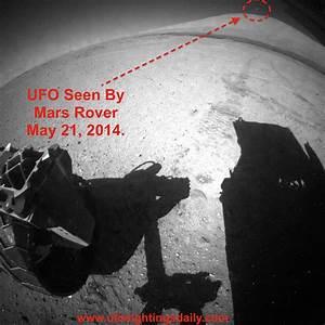 UFO SIGHTINGS DAILY: Long UFO Seen On Mars By Curiosity ...