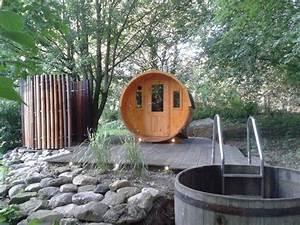 Fass Als Gartenhaus : finntherm fass sauna max eine sauna f r den garten pinterest piscinas muebles de madera y ten ~ Markanthonyermac.com Haus und Dekorationen