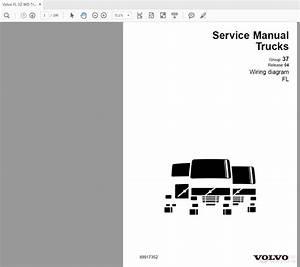 Volvo Fl 02 Wd Trucks Service Manual