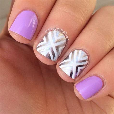 super easy nail design ideas  short nails pretty