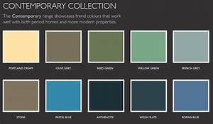 Color Palette Contemporary Lentine Marine 4542