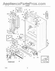 Parts For Frigidaire Lgub2642lf2  Cabinet Parts