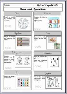 Plan De Travail Fin : plan de travail gs cycle 1 pinterest ~ Preciouscoupons.com Idées de Décoration