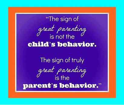 Thought Thoughts Behavior Calm Parents