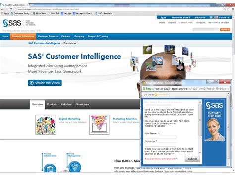 Sas Live Chat we re talking turkey via live chat on sas customer