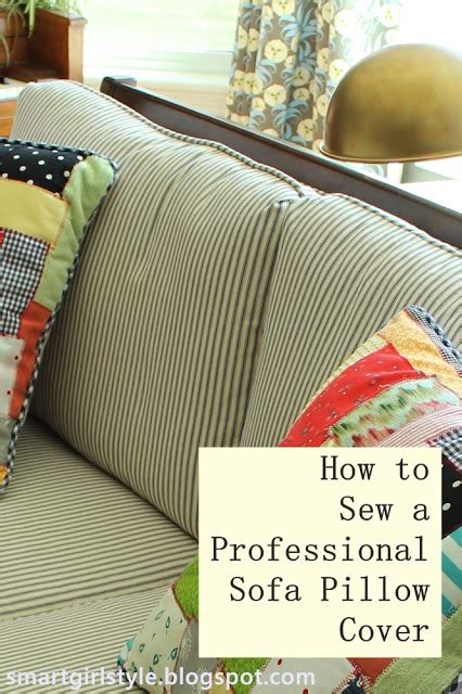 how to sew pillow covers smartgirlstyle how to sew a professional pillow cover