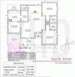 bedroom floor plans 5 bedroom house elevation with floor plan indian house plans