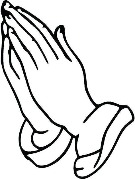 Picture Of Praying Hands To Color Praying Hands Coloring