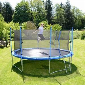 Trampolin Für Den Garten : sport tiedje garten trampolin 370 cm inkl sicherheitsnetz ~ Michelbontemps.com Haus und Dekorationen