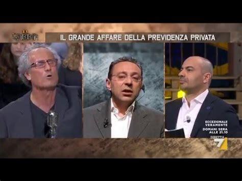 Paolo Barnard La Gabbia Paolo Barnard E Le Pensioni La Gabbia 11maggio2016