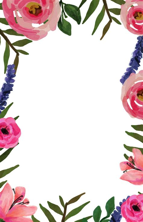Floral Invite Free Printable Invitation Templates Floral