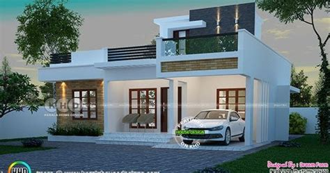 square feet  bedroom small home plan kerala home design  floor plans