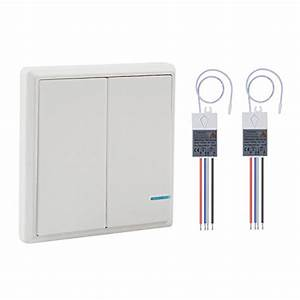 Wsdcam Wireless Light Switch And Receiver Kit Outdoor 1900