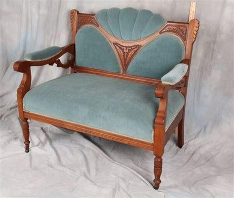 Settees Ebay by L53 Antique American Eastlake Carved Upholstered